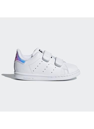 adidas Unisex Bebek Stan Smith  Spor Ayakkabı AQ6274 Beyaz